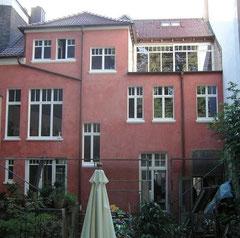 Fassade Gartenseite nachher