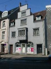 Fassade Straßenseite vorher