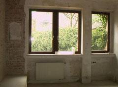 Schlafzimmerfenster vorher