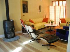 Alter Hauseingangsflur nachher: jetzt Wohnraum
