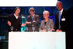 Bundesministerin a.D. Anette Schavan eröffnet die Max Planck Science Gallery