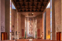 St. Basil Church Los Angeles, Kalifornien, Albert C. Martin 1970