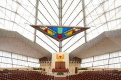 Beth Sholom Synagogue, Elkins Park, Pennsylvania, Frank Lloyd Wright, 1954-1959