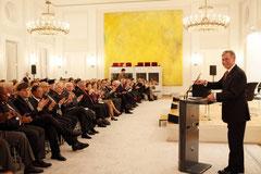 """Bundespräsident a.D. Horst Köhler eröffnet die Diskussion zur """"Zukunft der Moderne"""""""