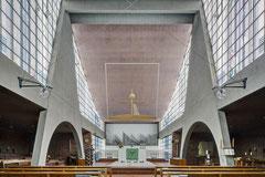 Heilig Geist Kirche Essen, Gottfried Böhm, 1955-1957