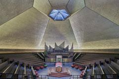 North Christian Church Columbus, Indiana, Eero Saarinen, 1955-1964