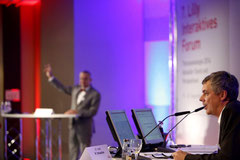 Podiumsdiskussion beim interaktiven Symposium Thoraxerkrankungen