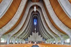 Central United Methodist Church Stockton, Kalifornien, Anshen and Allen, 1964