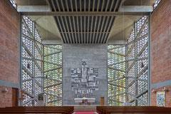 Evangeliumskirche München, Helmut von Werz & Johann-Christoph Ottow, 1962