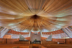 Unitarian Meeting House, Hartford, Connecticut, Victor A. Lundy, 1964