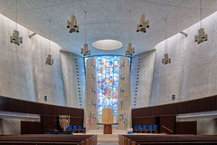 Temple Beth Zion, Buffalo, New York, Max Abramovitz, 1966-1967