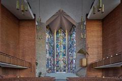 Chapel of the Resurrection Valparaiso, Indiana, Charles Stade and Peter Dohmen, 1956-1959