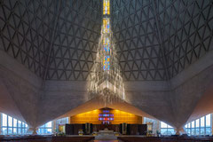St. Mary of the Assumption Cathedral San Francisco, Pier Luigi Nervi and Pietro Belluschi, 1971