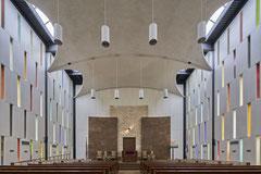Congregation Kneses Tifereth Israel, Port Chester, New York,  Philip Johnson, 1954-1956