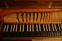 Clavichord (Detail) (Foto: Johannes Scherzer)