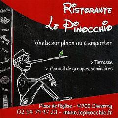 Ristorante Le Pinocchio - Place De l'Eglise - 41700 Cheverny