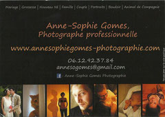 Anne-Sophie Gomes, Photographe professionnelle - 06 12 92 37 84 - Mail : annesogomes@gmail.com - Facebook : Anne-Sophie Gomes Photographie