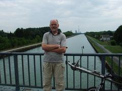 Kanal mit Schornstein