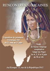 affiche expo vente afrique