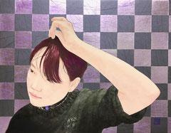 小島暁夫 F6号 『思春期前』