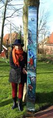 """Kunst-Spundwand """"Exodus"""" für Brüssel"""