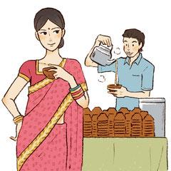 インドのチャイ