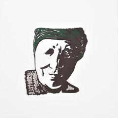 starke Frauen, Ma, Siebdruck, 2021,  10 x 10 cm, Christin_Naumann