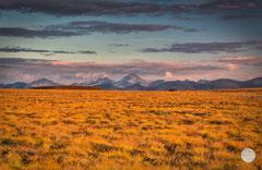 "Bild: Brooks Range in the Arctic Wildlife Refuge, Alaska, ""golden times"", www.2u-pictureworld.de"
