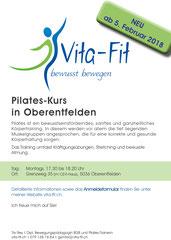 Vita-Fit - bewusst bewegen - Flyer