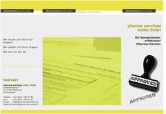pharma services oehler gmbh, Wollerau: Folder