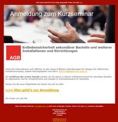 AGB Bautechnik AG, Strengelbach - Newsletter