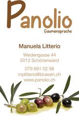 Panolio, Schönenwerd: Website, Visitenkarten
