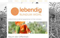 lebendig - rundum wohl, Suhr: Website