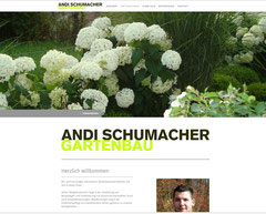 Andi Schumacher Gartenbau GmbH, Aarau Rohr: Website