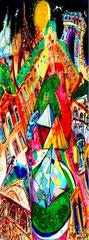 Vue de Paris créatif ref/ A06