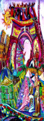 Vue de Paris créatif ref/ A02