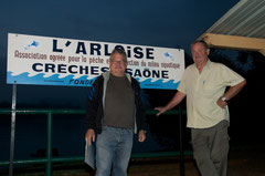 6° : Jean Pierre ROMAND et Philippe DENOSJEAN (570 points pour 1 brochet)