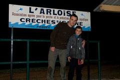 9° ex aequo : Grégory LACHARME et Tom LACHARME vainqueur du prix spécial jeune