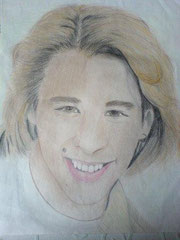 Chesney Hawkes Buntstift auf A3
