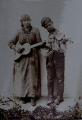 Sinti, wohl bei Wittendorf, wohl zwischen 1894 und 1924, Bildrechte:  privat, alle Rechte vorbehalten!