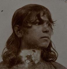 Sintiza, wohl bei Wittendorf, wohl zwischen 1894 und 1924, Bildrechte: privat, alle Rechte vorbehalten!
