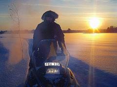 Skoterturer i Lappland