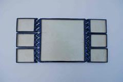 Sederplatte 7-teilig blau/weiß 1,5x49x23, 280€
