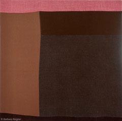 Ohne Titel 2019, Leinen/Baumwolle, 60 x 60 cm