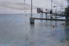 Mittelmeer 2009, Lochkamera 13/25, Diasec 40 x 59 cm