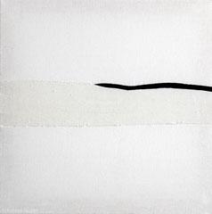 Ohne Titel 2014, Baumwolle/Wolle, 50 x 40 cm
