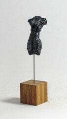 Miniatur-Torso aus Pappmache mit Bronzepatina - Größe ca: 16,5 cm - ohne Titel -verkauft-