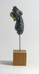 Miniatur-Torso aus Pappmache mit Bronzepatina und Blattgold - Größe ca: 22 cm - ohne Titel -verkauft-