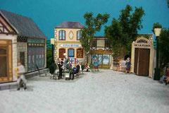 Maquette de la place 1930 - Parc Festyland