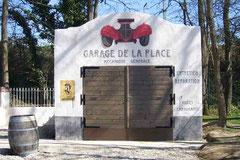 Façade du garage de la place 1930 Festyland